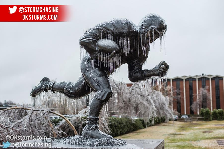 Icy Statue