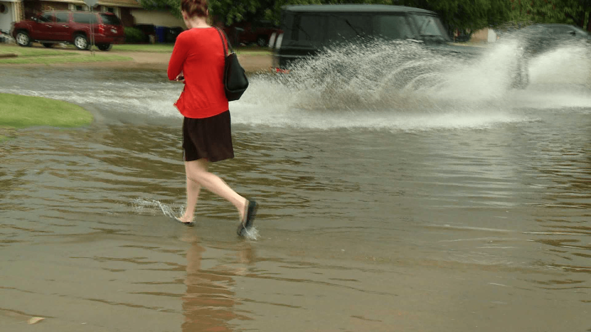 Flooding in Norman